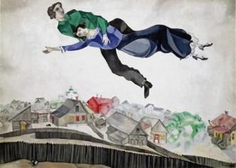 Museus em Moscou - Galeria Tretyakov - Sobre a cidade - Chagall 1918