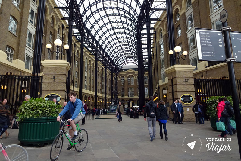 Londres Southwark Hays Galleria