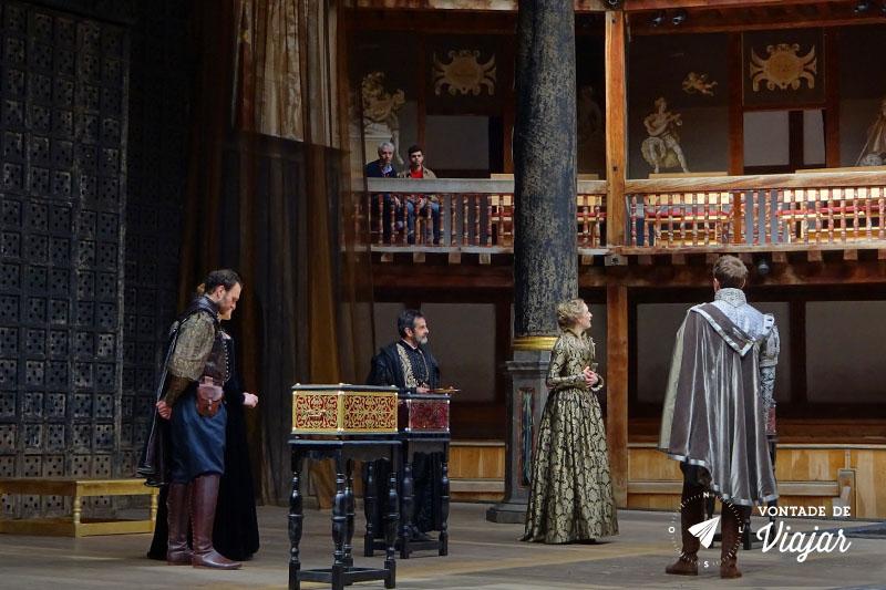 Londres Teatro Shakespeare Globe