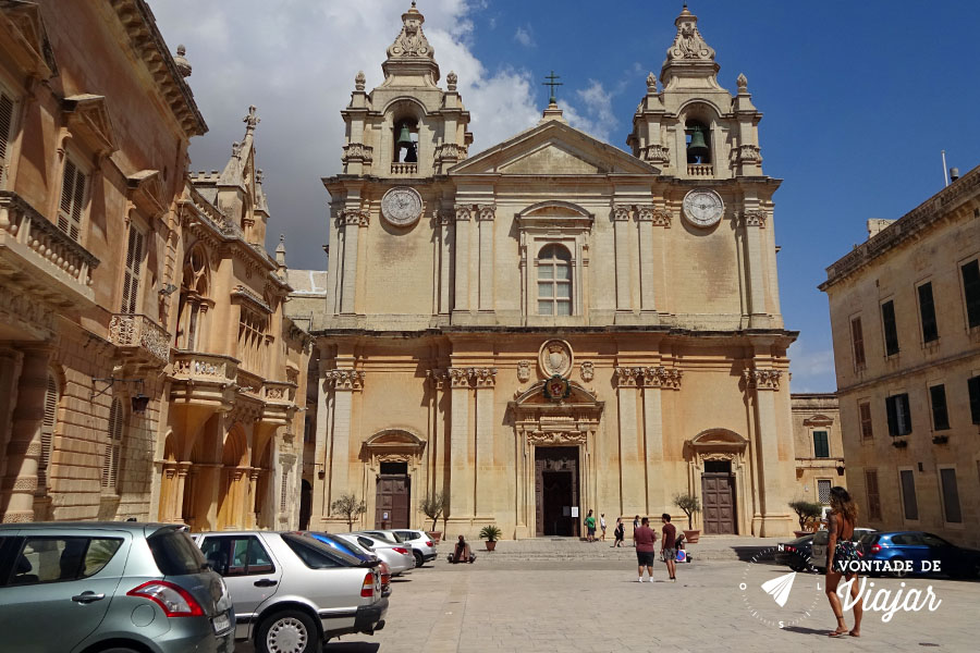 Mdina de Malta - Catedral de Sao Paulo Malta