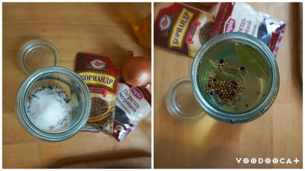 Малосольная селедка с луком рецепт с фото