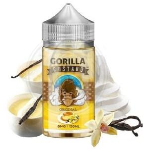 Gorilla Custard Original, 100ml, 3mg