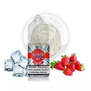 Strawberry Ice Salt By Dinner Lady