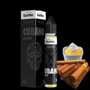 Cubano Black By VGOD saltnic