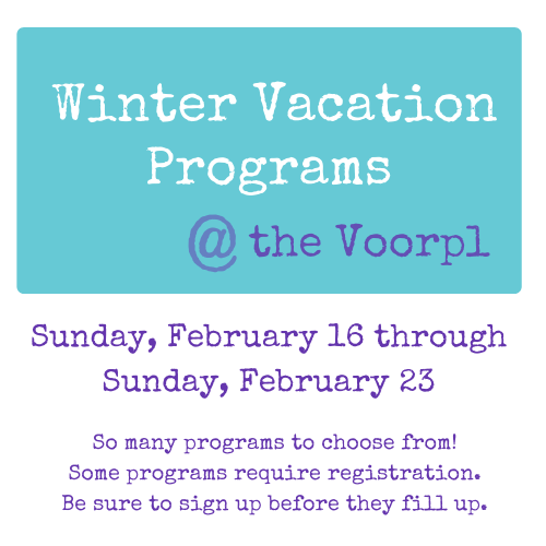 Winter Vacation Programs