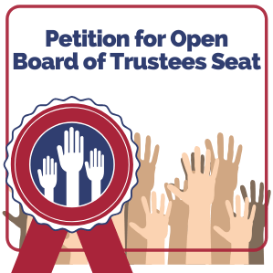 Petition for Open Board of Trustee.