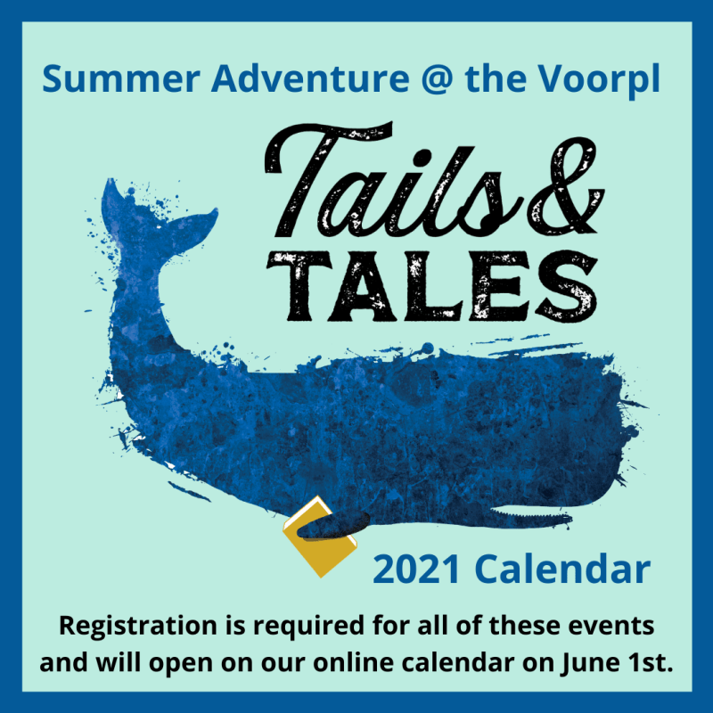 Click on this box to get the link to the Summer Reading Program pdf for July and August 2021.