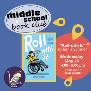 Middle School Book Club. Roll with It by Jamie Sumner