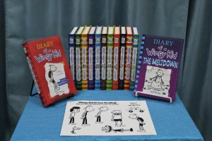 Grades 3-8: We Love Diary of a Wimpy Kid