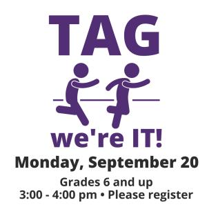 TAG. Teen Advisory Group