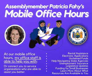 Pat Fahy Mobile Office Hours