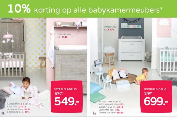 goedkope babykamers