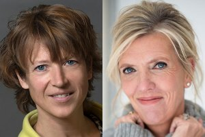 Geraldine Leegwater en Henriette Prast