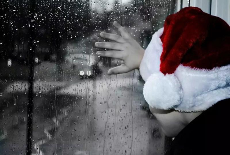 kerst alleen