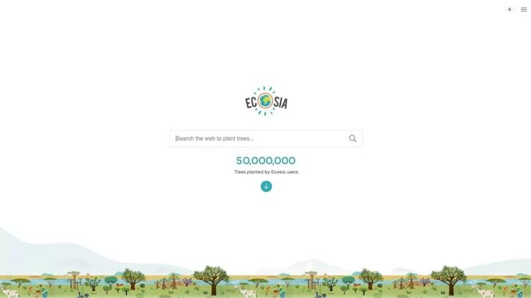 ecosia duurzaam online