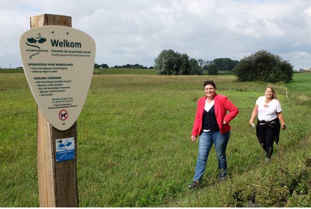 Wandelaars ontdekken Klompenpaden