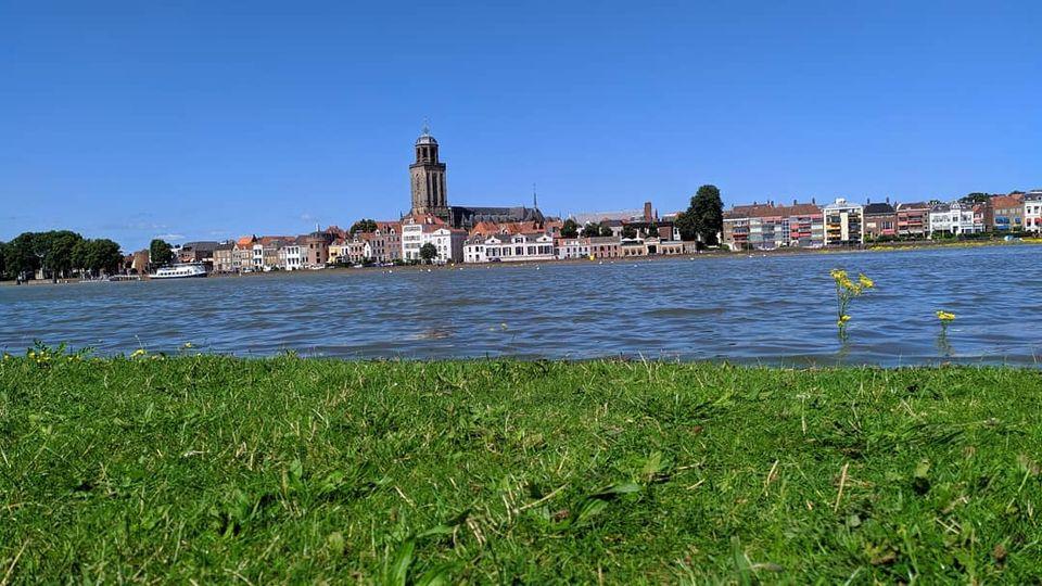 Deventer Worpplantsoen onder water