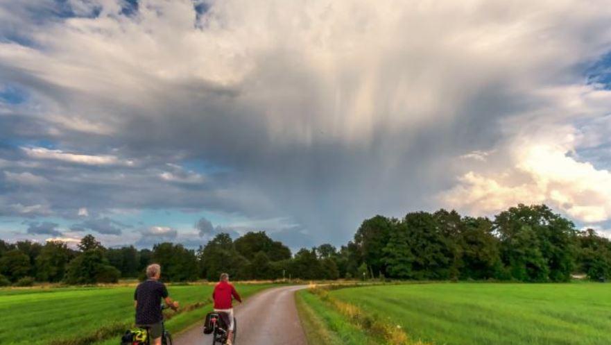 Zomervakantie weerbericht: koeler en en licht wisselvallig