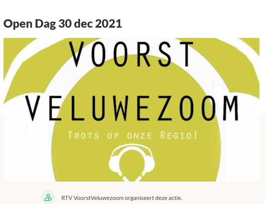 Open dag 30 december 2021