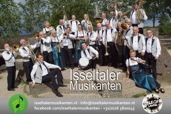 Isseltaler Musikanten halen weer een topkapel naar Zweimal Blasmusik