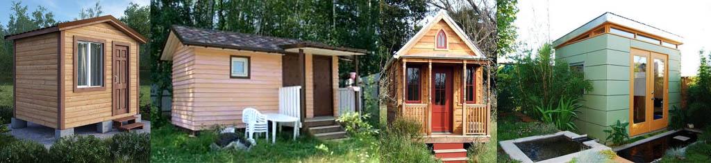 Ejemplos de diseño externo de casas de marco.