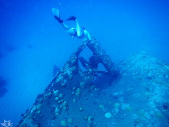 Unterwasserblau