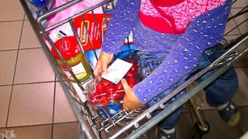 Selbstversorgung im Einkaufswagen