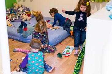 Kinderchaos im Kinderzimmer