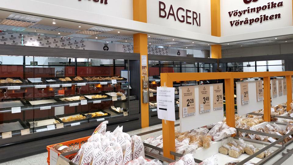 Instore bakery Prisma Vasa
