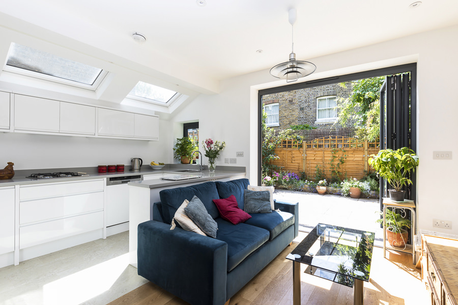 0227 - Side extension to ground floor apartment in Kilburn-vorbild-architecture-hgarden-flat-kitchen-bathroom-queens-park--15
