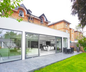 0431 Refurbishment and large contemporary extension in Teddington