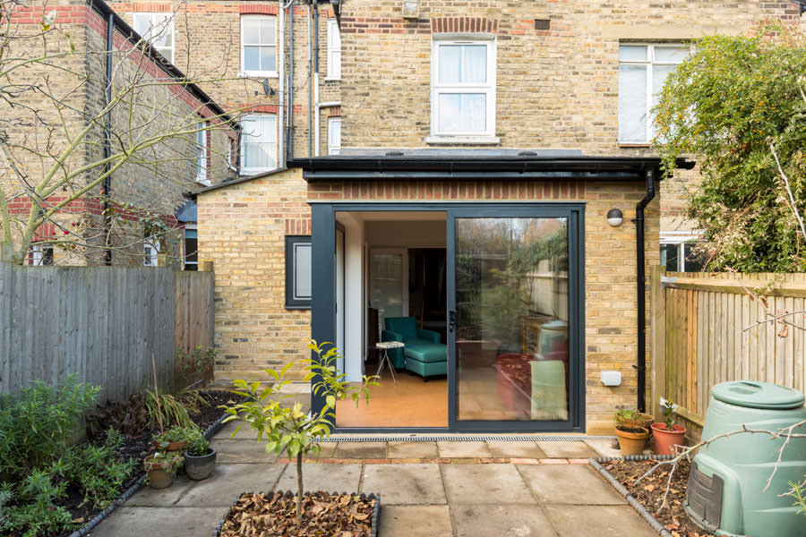 0527 Retro style house extension in Kentish Town NW5