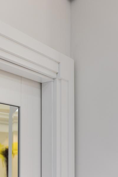 0587 art deco architrave white high gloss vorbild architecture