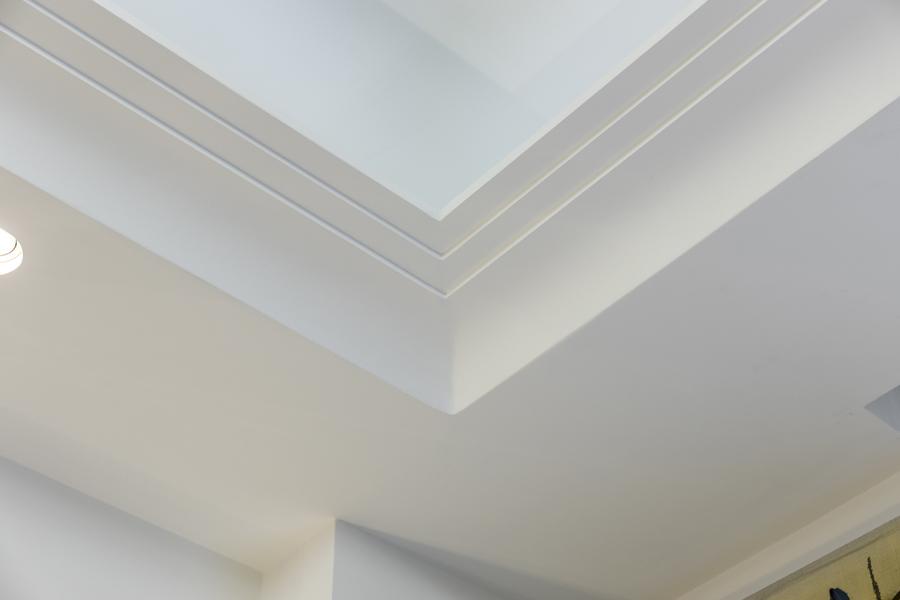 0587 ceiling coffer cornice art deco vorbild architecture