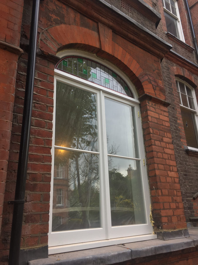 0736 new windows replaced in traditional west hampstead house