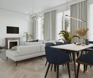 02526 Top floor apartment in Beaulieu-Sur-Mer, France
