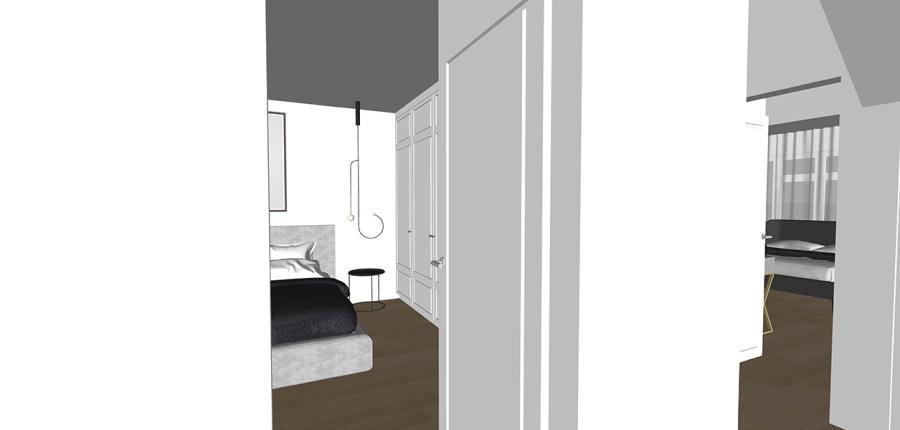 master bedroom blue garden-flat-design-vorbild-architecture-25