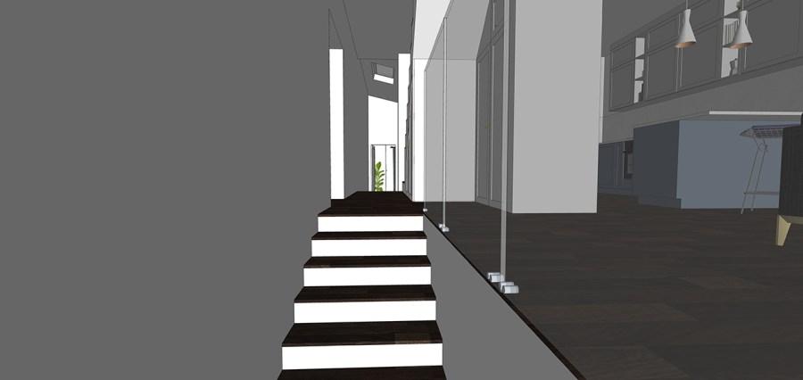 maisonette glass balustrade