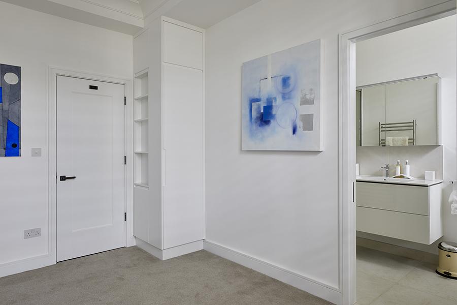 concealed storage white