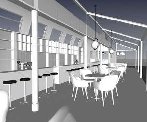 1024 Train carriage restaurant concept for the Middle East