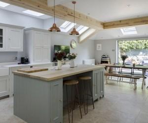 0647 Eine komplette Renovierung des Erdgeschosses eines Hauses in Chiswick, London
