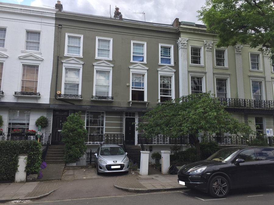 0828 - Stunning St Johns Wood terraced house vorbild architecture 1