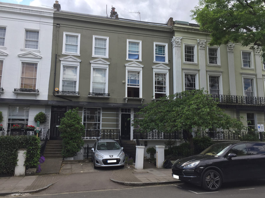 0828 - Stunning St Johns Wood terraced house vorbild architecture 1
