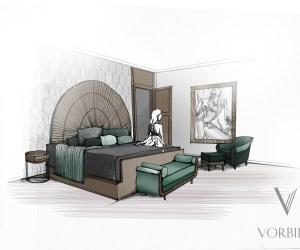 02201 Design concept hôtel du centre de Londres