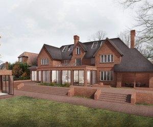 0762 Magnifique maison avec grand jardin à Reading, Angleterre