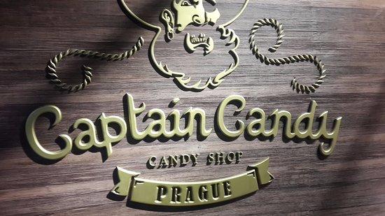 Captain Candy En Slikbutik Eller Et Skatkammer Prag Med Børn