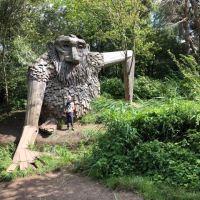 6 glemte kæmper - skulpturskattejagt på Vestegnen - anden del