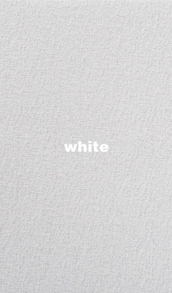 Stoffe und Farben Joplin white für Flächenvorhang mit Lasercut