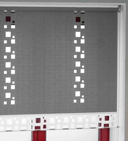 Moderne Schiebegardinen und Flächenvorhänge nach Maß mit Lasercut