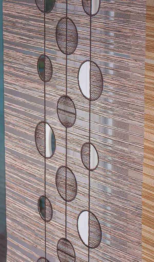 Moderne Viora Gardinen Moderner Flächenvorhang Viora Point